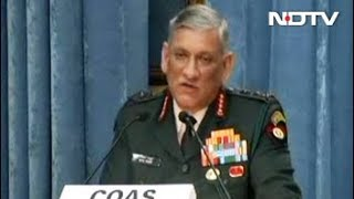 """Pakistan Behind """"Planned"""" Influx From Bangladesh Into Northeast, Says Army Chief - NDTVINDIA"""