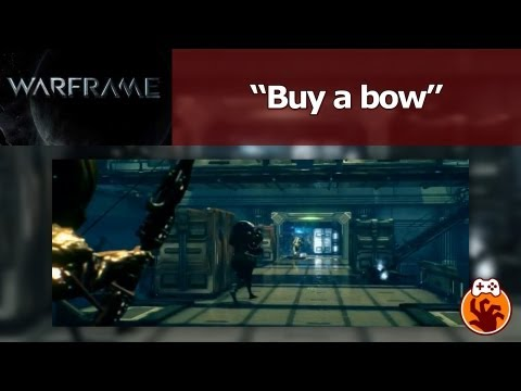 Warframe - Buy a bow