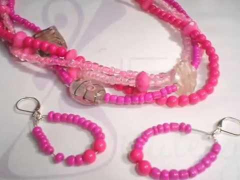 Bisuteria, collares, pulseras y aretes - LuE Bisutery