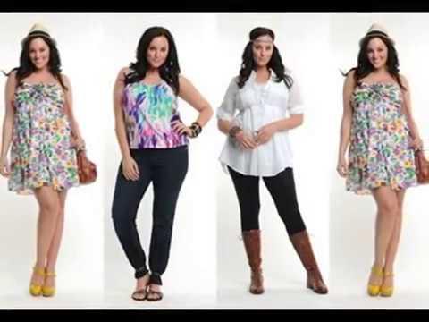 Moda OUTFIT para mujeres gorditas 2014-2015