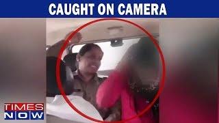 U.P cops abuse & thrash girl in viral video for 'Love Jihad' - TIMESNOWONLINE