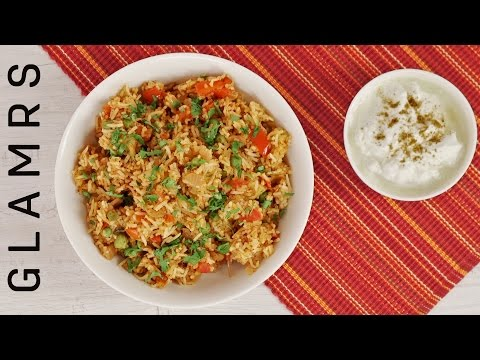 Simple And Tasty Recipe For Pav Bhaji Rice | Leftover Chawal Recipe