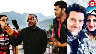 Arjun Kapoor Wraps Up 'Sandeep Aur Pinky Faraar' | Hrithik - Sussanne To Remarry? - ZOOMDEKHO