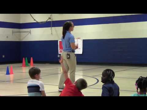 Track and Field in Elementary PE (1st grade)