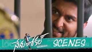 Nenu Local Movie - Police Station Comedy Scene - Nani, Keerthy Suresh, Naveen - DILRAJU
