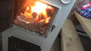Отопление на даче твердотопливным котлом