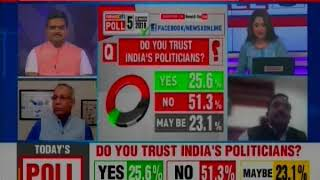 Lok Sabha Elections 2019, NewsX Opinion Poll: Facebook Poll Survey, Who's leading BJP vs Congress? - NEWSXLIVE