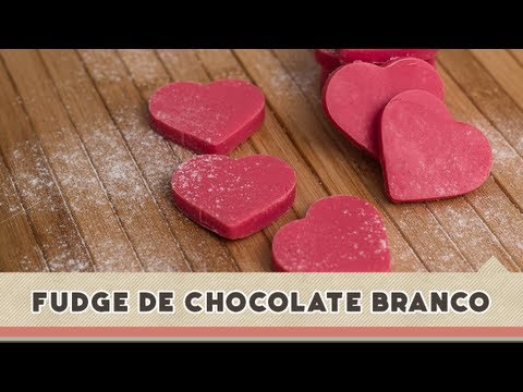 Fudge de Chocolate Branco - Receitas de Minuto EXPRESS #50