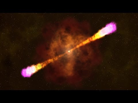 Overview Animation of Gamma-ray Burst