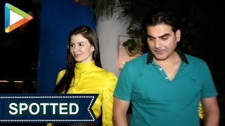 SPOTTED: Arbaaz Khan with Girlfriend Giogia Andriani at Olive, Khar - HUNGAMA