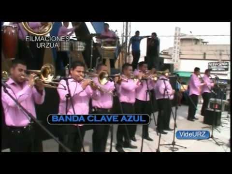 BANDA CLAVE AZUL - 2013 En VIVO