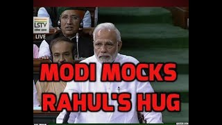 Utho Utho Utho..What is his hurry to come to power? PM Modi mocks Rahul Gandhi's hug - ABPNEWSTV