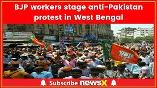 BJP workers stage anti-Pak protest in West Bengal - NEWSXLIVE