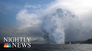 New Concerns As Hawaii Volcano Lava Nears Geothermal Plant | NBC Nightly News - NBCNEWS