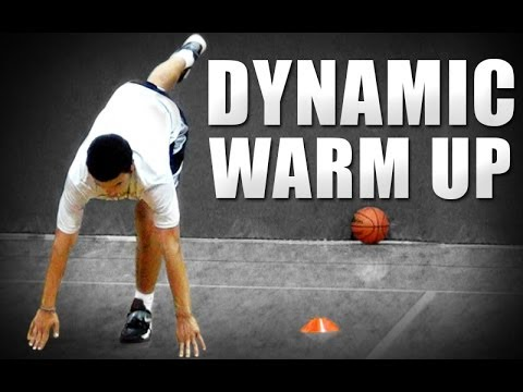 Basketball Dynamic Warm Up | Basketball Stretching | Basketball Leg Resistance Bands
