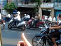 Rush Hour Traffic in Ho Chi Minh City