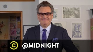 Masterclass - How to Make a Martini with Greg Proops - @midnight with Chris Hardwick - COMEDYCENTRAL
