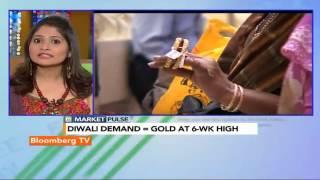 Market Pulse: Gold Sales Up 25% - BLOOMBERGUTV