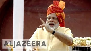 India's Modi calls for peace in Kashmir during independence ceremony - ALJAZEERAENGLISH