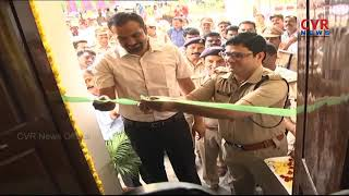 Collector RV Kannan & Police Commissioner Tafseer Iqbal inaugurated New ACP Office in Khammam | CVR - CVRNEWSOFFICIAL