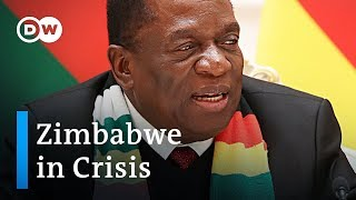 Economic strife in Zimbabwe fuels unrest | DW News - DEUTSCHEWELLEENGLISH