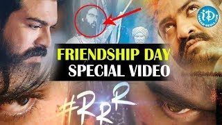 Unseen Exclusive Photos of Ram Charan and Jr NTR - RRR Movie Shoot | Friendship Day Special 2019 - IDREAMMOVIES