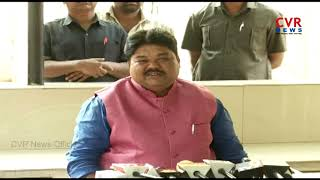 MLC Ramulu Naik Press Meet after Disqualification | CVR News - CVRNEWSOFFICIAL