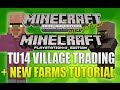 "Minecraft Xbox 360 & PS3: ""Title Update 14"" Village Trading + New Village Layout (TUTORIAL!)"