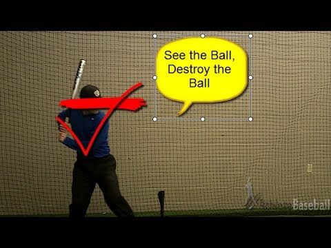 Hitting Drills for Kids: Increase Bat Speed and Power