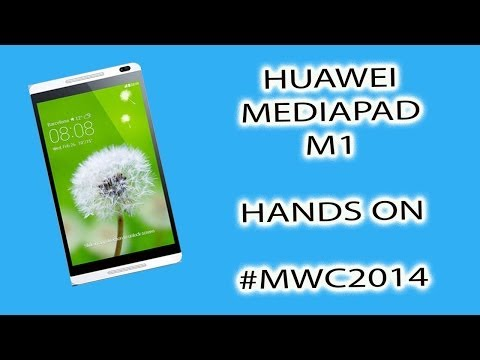 Huawei MediaPad M1 Hands On