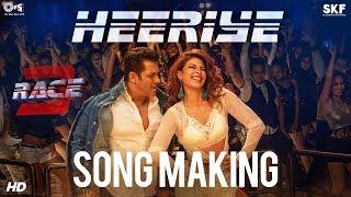 Heeriye Song Making - Race 3 Behind the Scenes | Salman Khan, Jacqueline Fernandez | Remo D'Souza - TIPSMUSIC