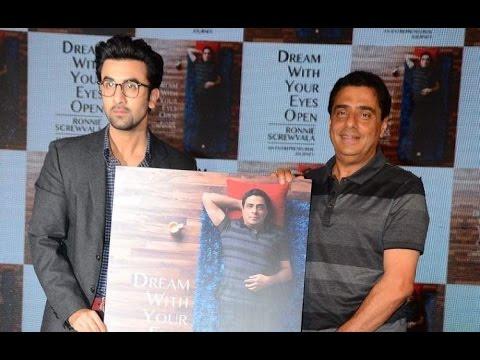 Ranbir Kapoor Launches Ronnie Screwvala's Book Cover