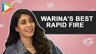 WOW: Warina Hussain's SURPRISING & IMPRESSIVE Performance in this HINDI Quiz | Rapid Fire - HUNGAMA