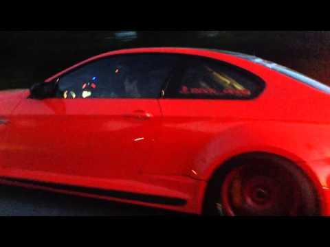 Vorsteiner GTRS3 Widebody BMW M3 Show Car Exhaust