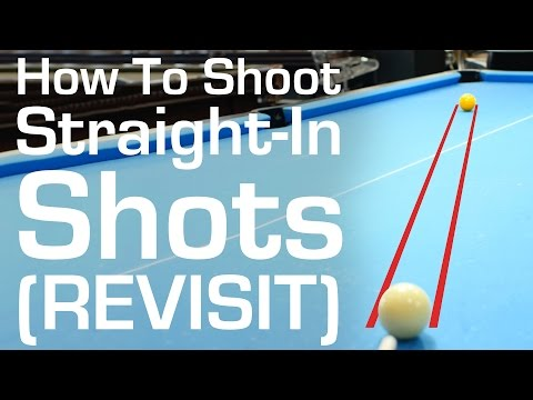 How to Shoot Straight-In Shots (Revisit)