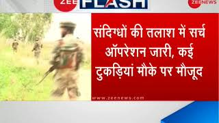Search operation underway in Pathankot after suspected terrorists movement - ZEENEWS