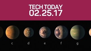 Astronomers find 7 Earth-size planets - CNETTV