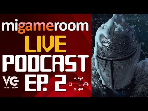 Mi Gameroom Live Podcast. Ep. 2