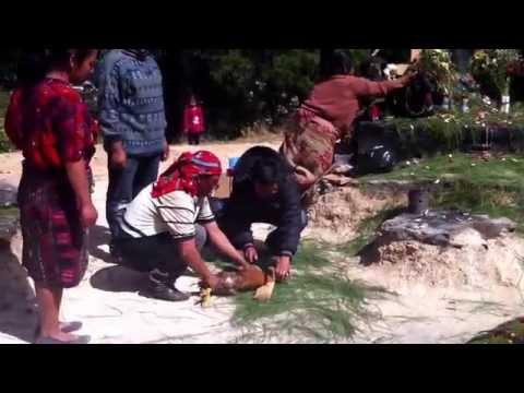 Ritual Maya (parte 3) - Pascual Abaj, Chichicastenango