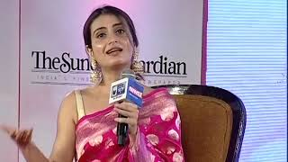 Women Of Steel Summit: Fatima Shaikh says, I was fortunate that I got Dangal - NEWSXLIVE
