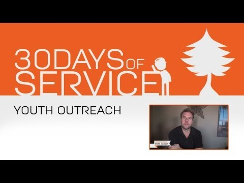 30 Days of Service by Brad Jamison: Day 5 - Youth Outreach