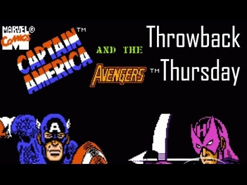 Captain America and the Avengers - Throwback Thursday | Too Much Gaming