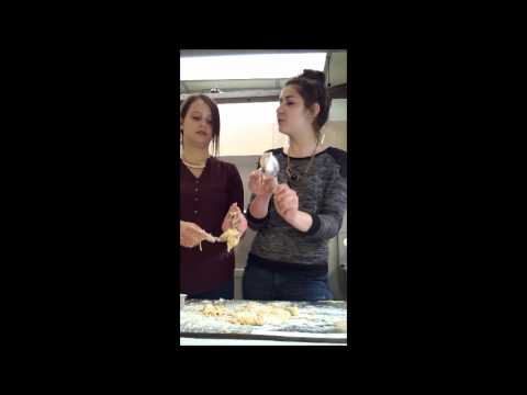 Scones: Adelina and Sarah