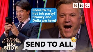Send To All with Ed Balls - Michael McIntyre's Big Show: Series 3 Episode 1 - BBC One - BBC