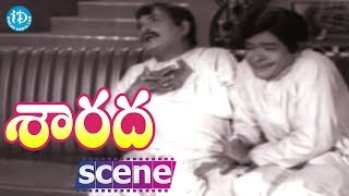 Sarada Movie Scenes - Raja Babu Comedy || Sharada || Shobhan Babu || Jayanti - IDREAMMOVIES