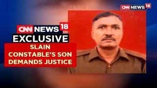 Slain Constable's Son On Face Off | CNN News18 - IBNLIVE