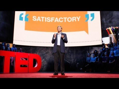 Wystąpienie Billa Gatesa to przykład prowadzenia interesującej dla publiczności prezentacji.