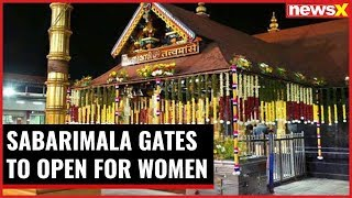 Sabarimala gates to open for women; over 500 policemen deployed near temple - NEWSXLIVE