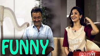 Anushka Sharma and Rajkumar Hirani talk about funny moments during PK | PK Movie