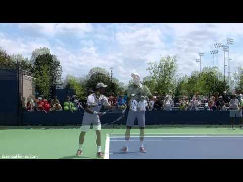 Novak Djokovic Serve in Slow Motion with Sound, HD